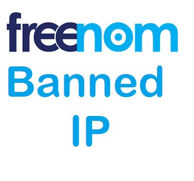 Cara Mengatasi Banned Ip di Freenom