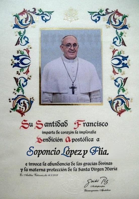 Bendiciones Del Matrimonio Catolico : Cómo comprar una bendición papal nuevo opin a