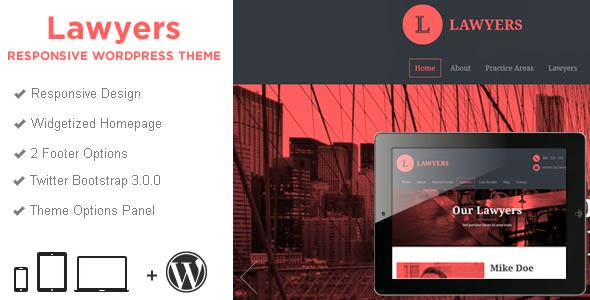 Website template for Lawers