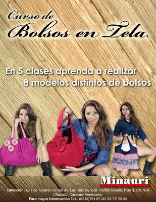 Curso Confeccion Costura Bolsos - Bolsos en Tela - Sewing Bags