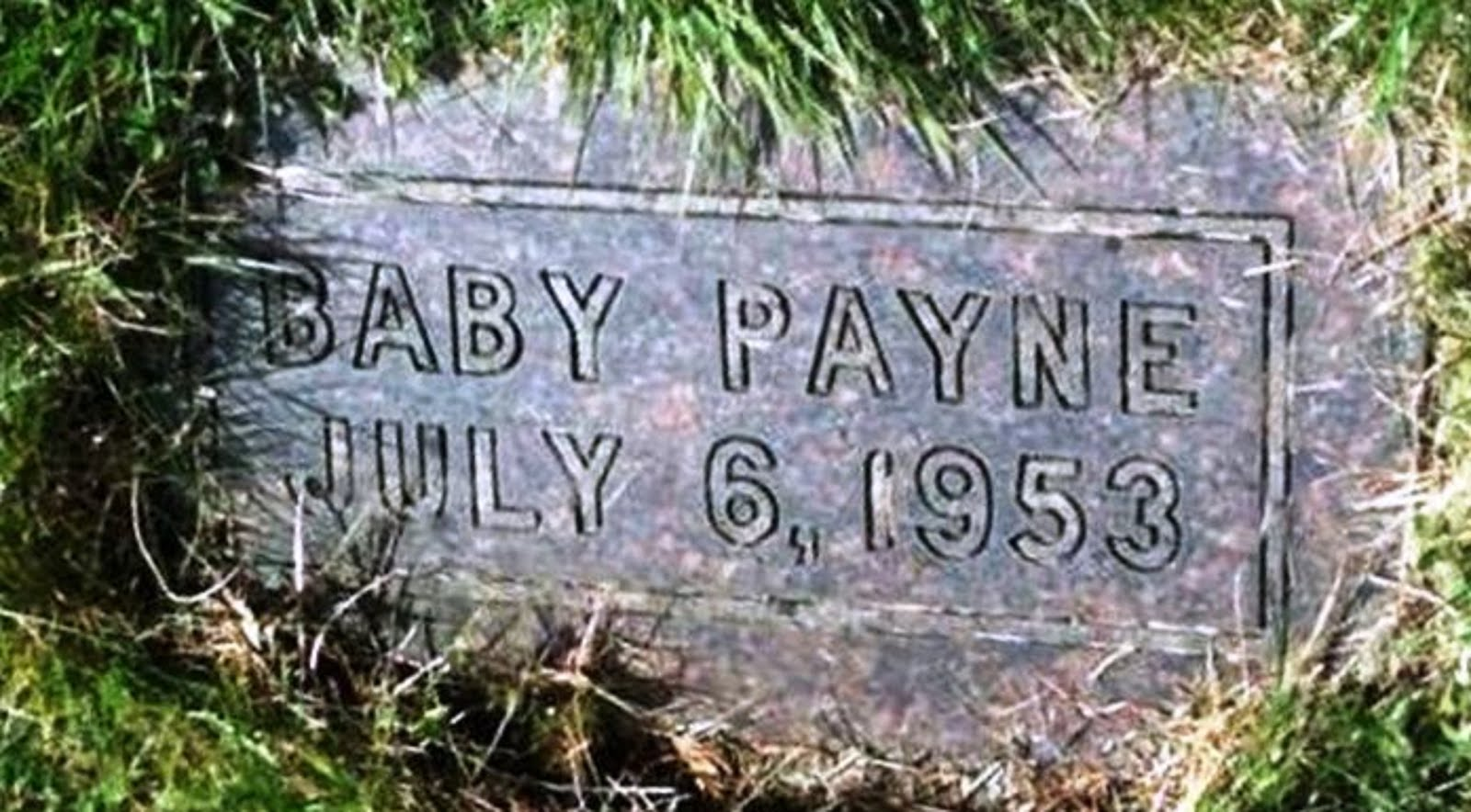 MY INFANT BABY SISTER - BORN JUNE 6th AND DIED JULY 6th - WAS MURDERED BY LPN ELSIE  PAYNE