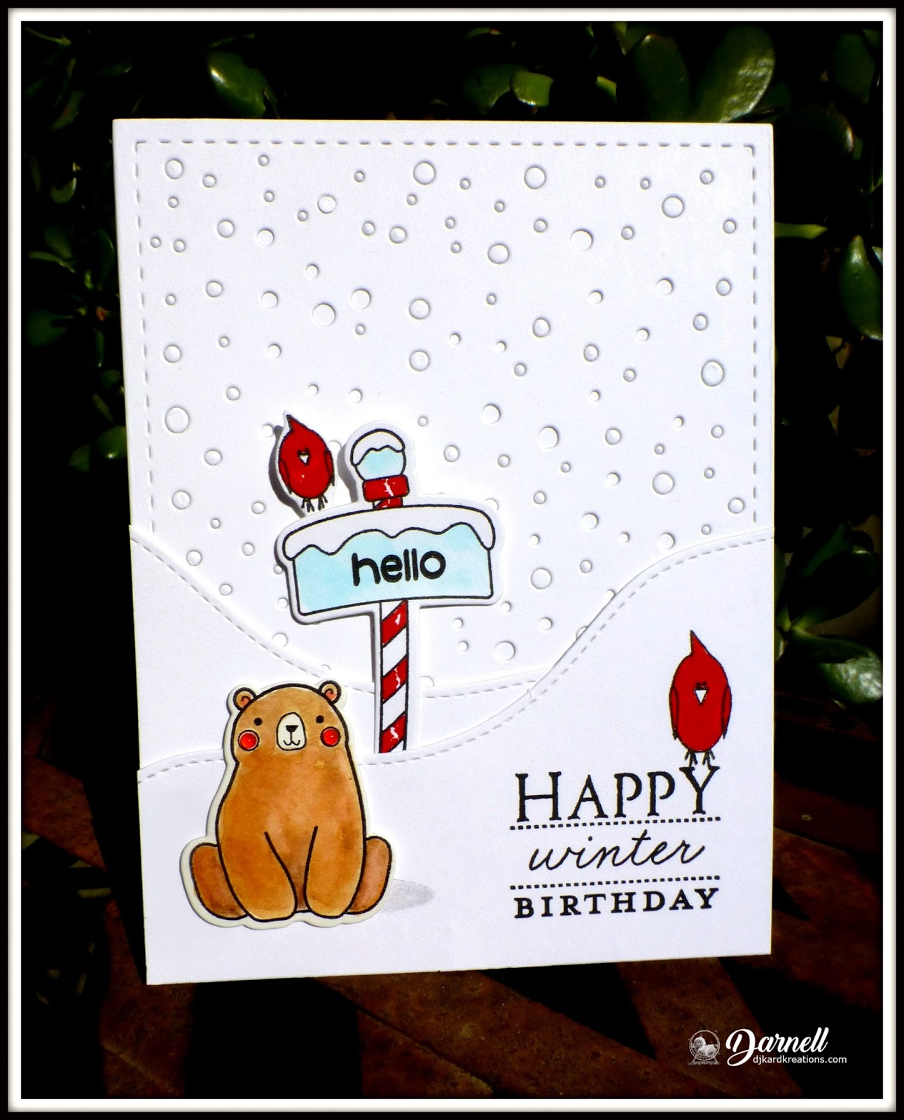 Djkardkreations wintery birthdays i did make three of these birthdays cards so im proud of that but i wish i could say i also made several more cards with this design with christmas m4hsunfo