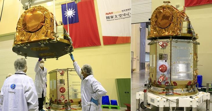 Cận cảnh vệ tinh Formosat-5 của Đài Loan. Hình ảnh: NAR Labs TW.