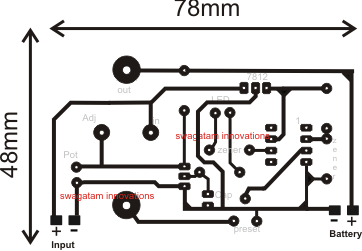 6V, 12V, 24V Battery Charger Circuit