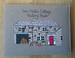 Low Hollin Bespoke Visitors Book