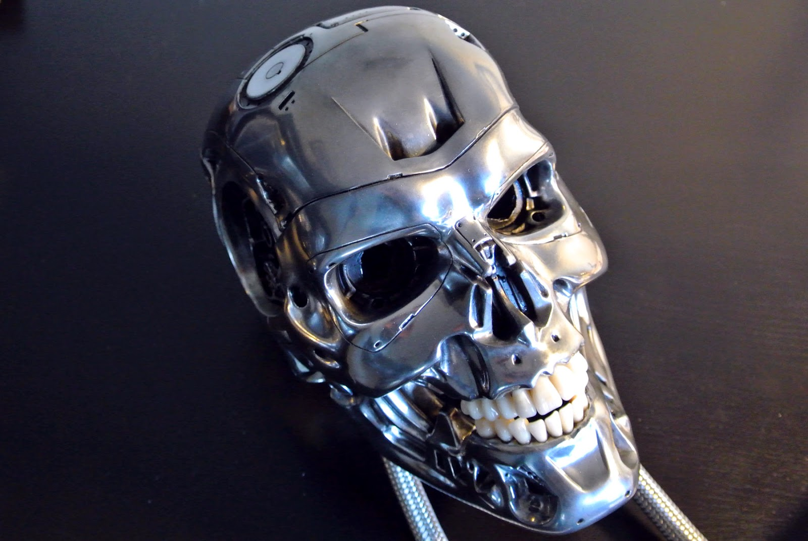 You may also not...T 800 Terminator Skull