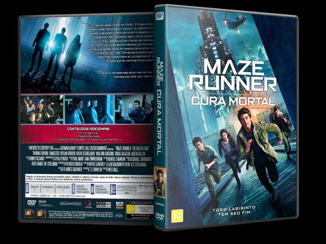 Capa DVD Maze Runner: A Cura Mortal [Custom]
