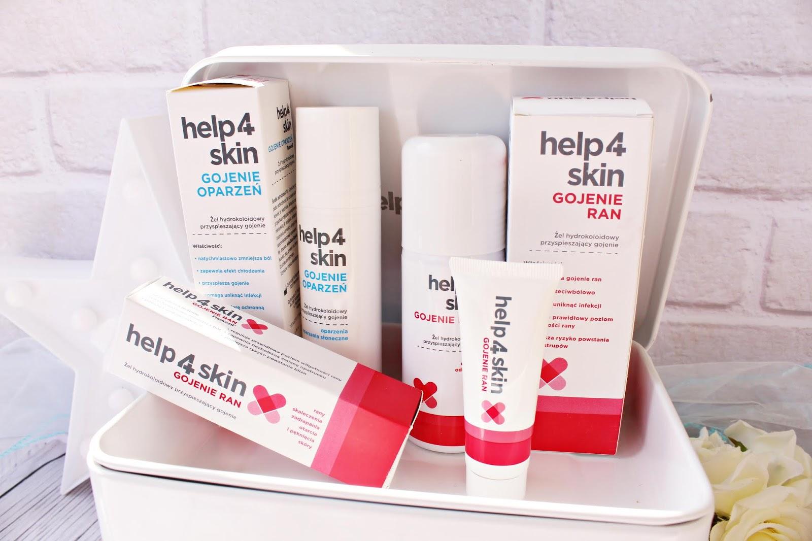 Niezbędnik w domowej apteczce - produkty Help4Skin