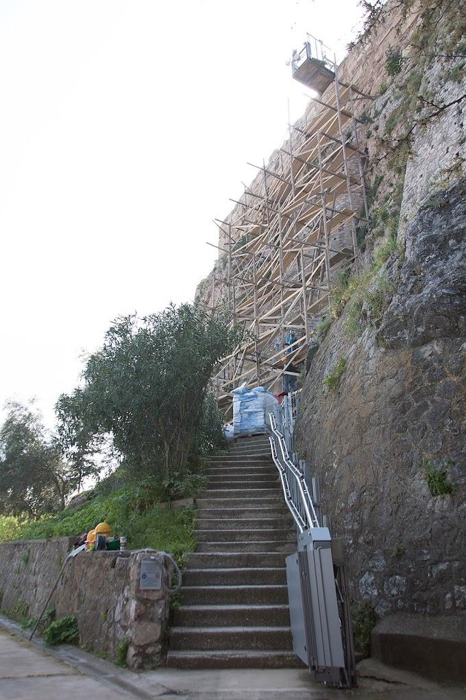 Τα έργα αναβάθμισης του αρχαιολογικού χώρου της Ακρόπολης