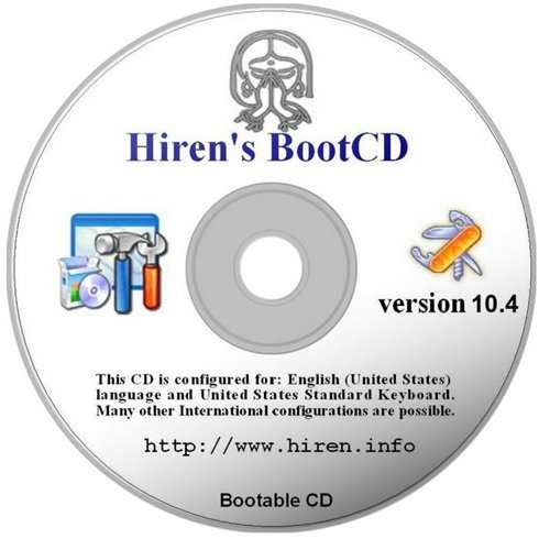 Hirens Boot Cd Best Version
