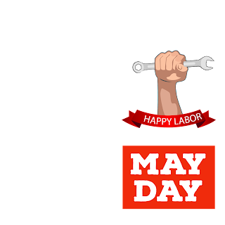Transparent image May day 2018 facebook frame free download