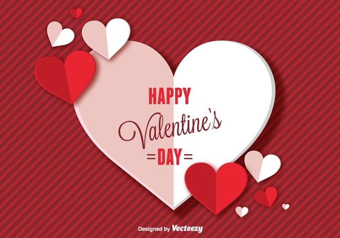 Happy Valentines Day Background free vector