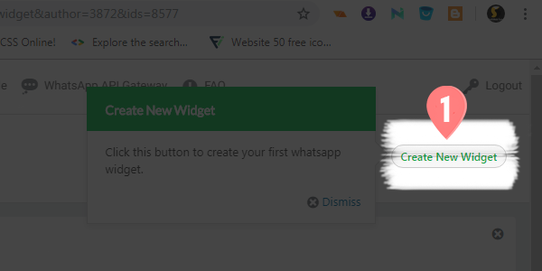 How to Add WhatsApp Chat Widget in Blogger / WordPress