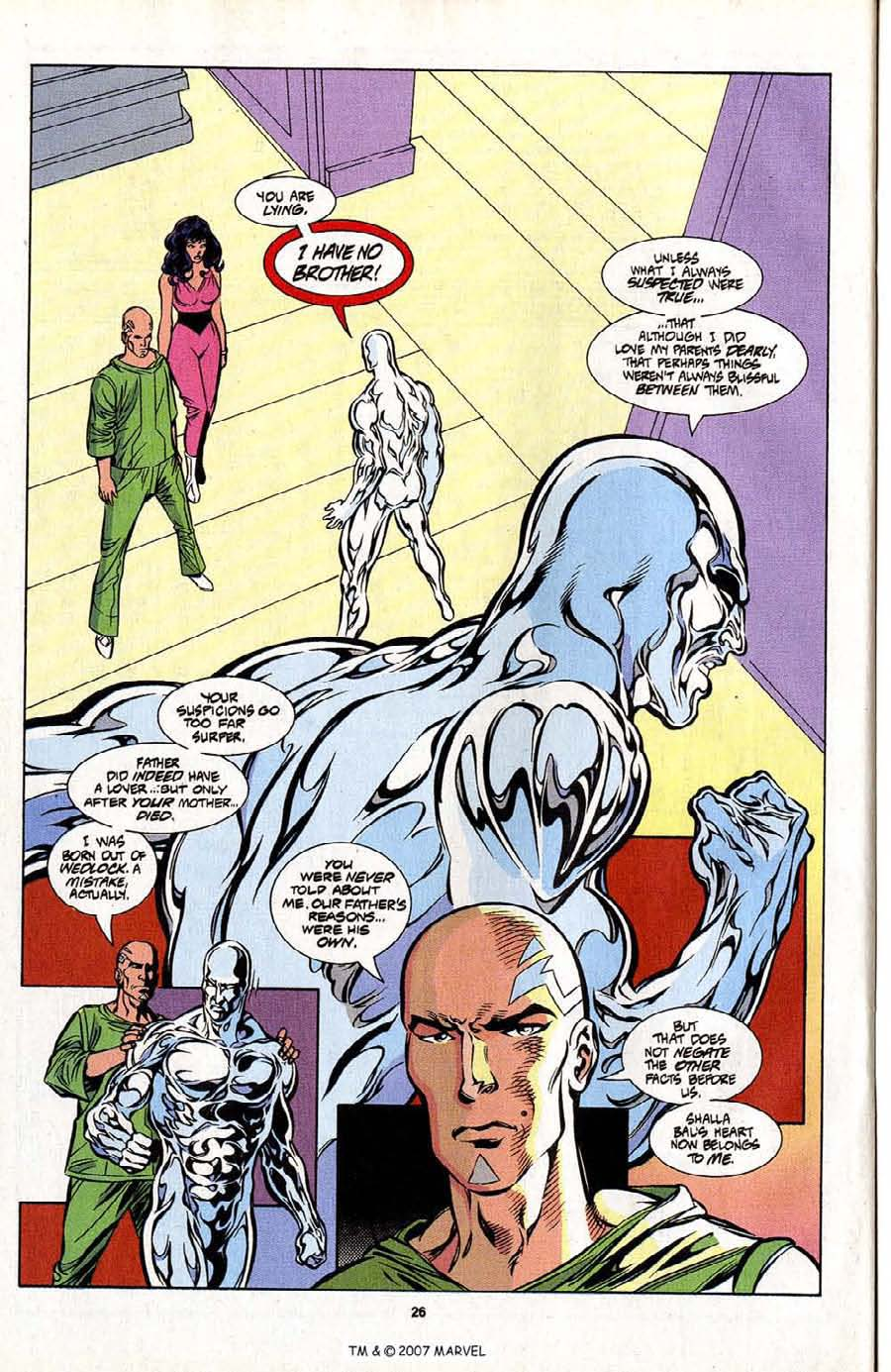 Silver Surfer (1987) Issue #101 #109 - English 28