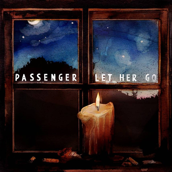 Passenger - Let Her Go (Live) - EP Cover