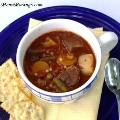 Old Fashioned Vegetable Beef Soup_menumusings.com