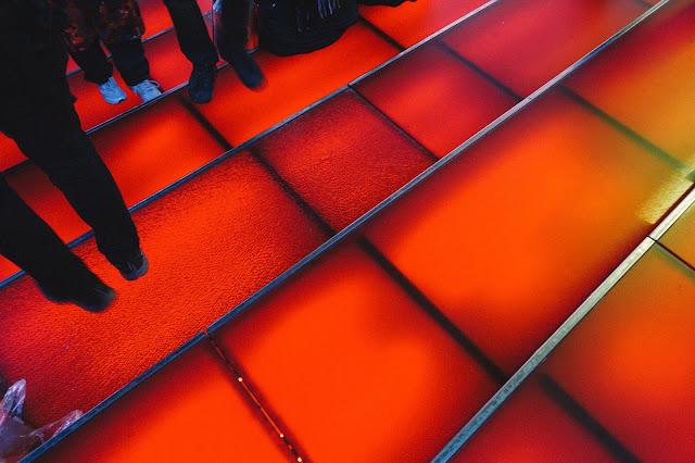 ダフィー・スクウェア(Duffy Square)の階段