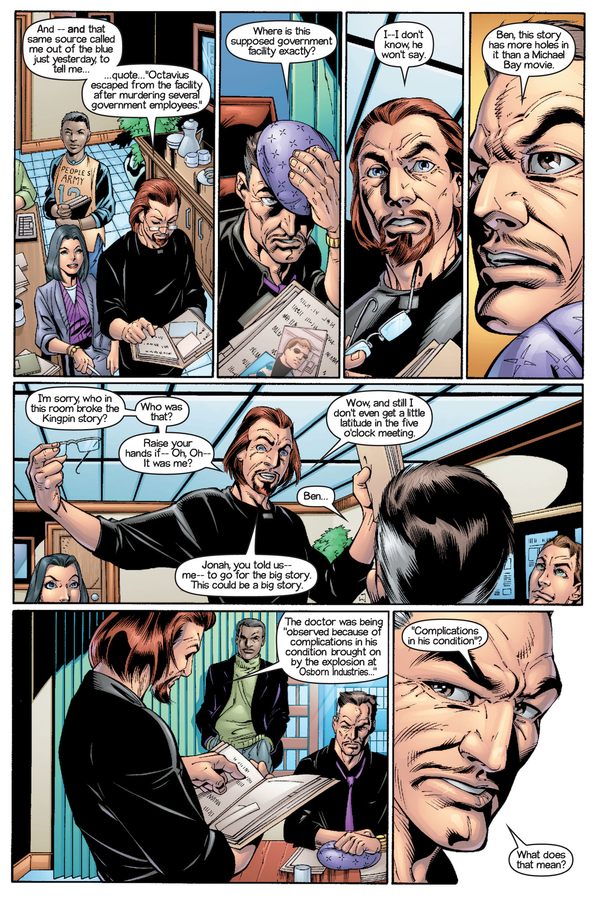 Read online Ultimate Spider-Man (2000) comic -  Issue #15 - 21