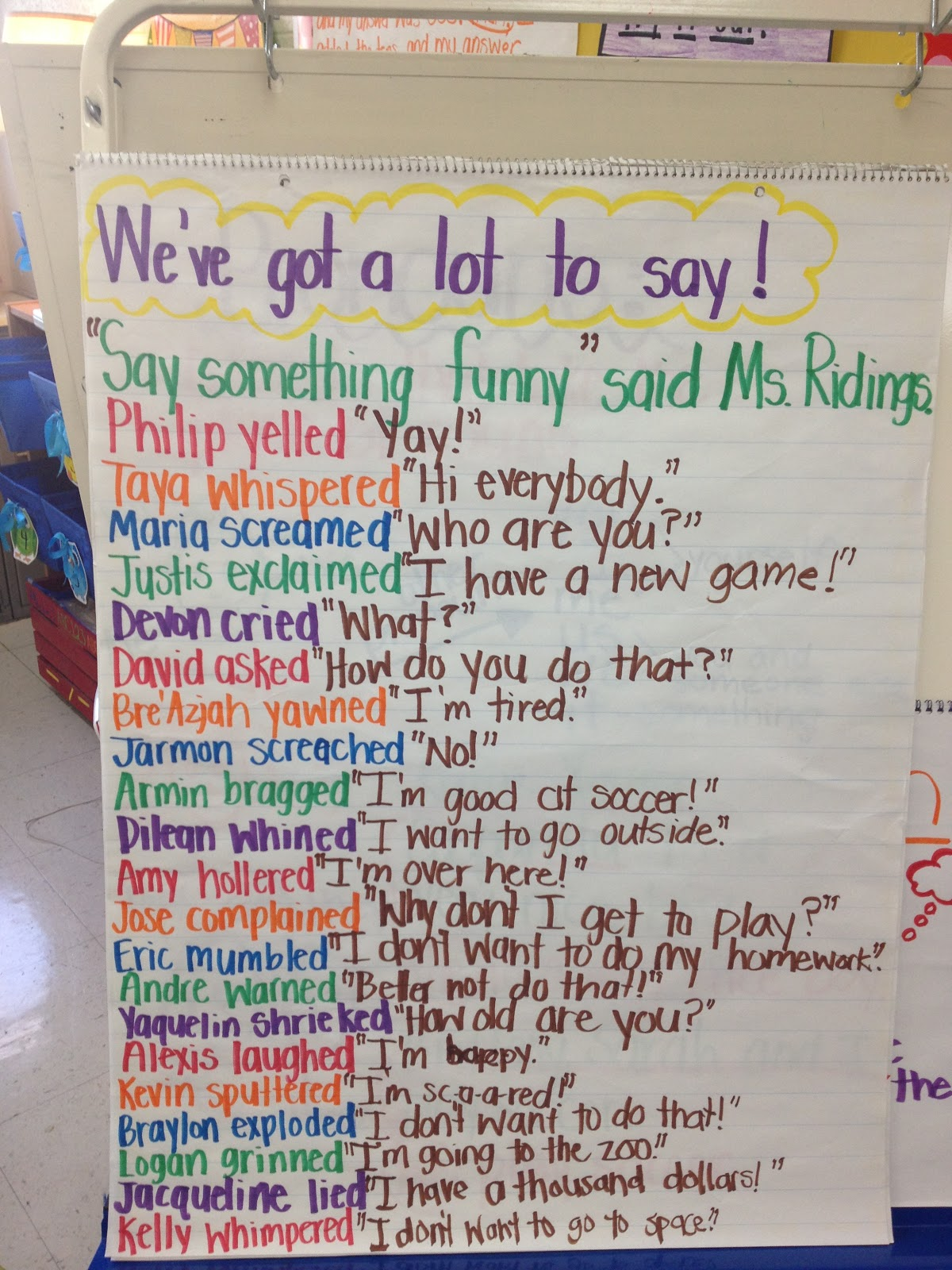 Quotation Mark Activity For Kids