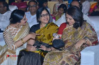 Actress Vimala Raman Stills in White Silk Saree at Om Namo Venkatesaya Audio Launch Event  0012.JPG
