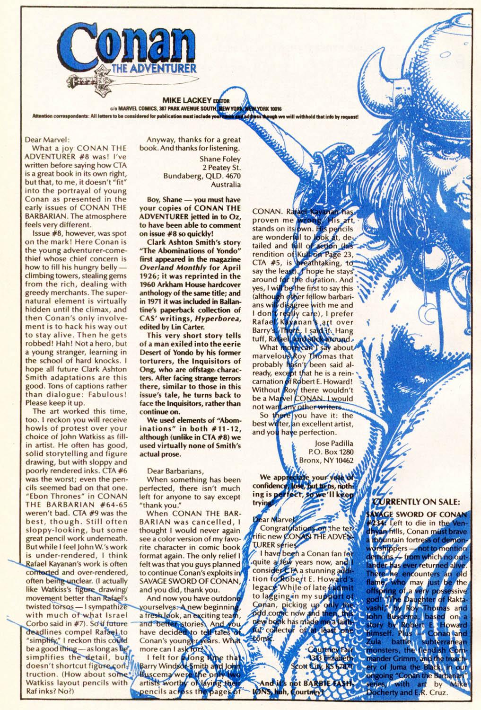 Read online Conan the Adventurer comic -  Issue #12 - 25