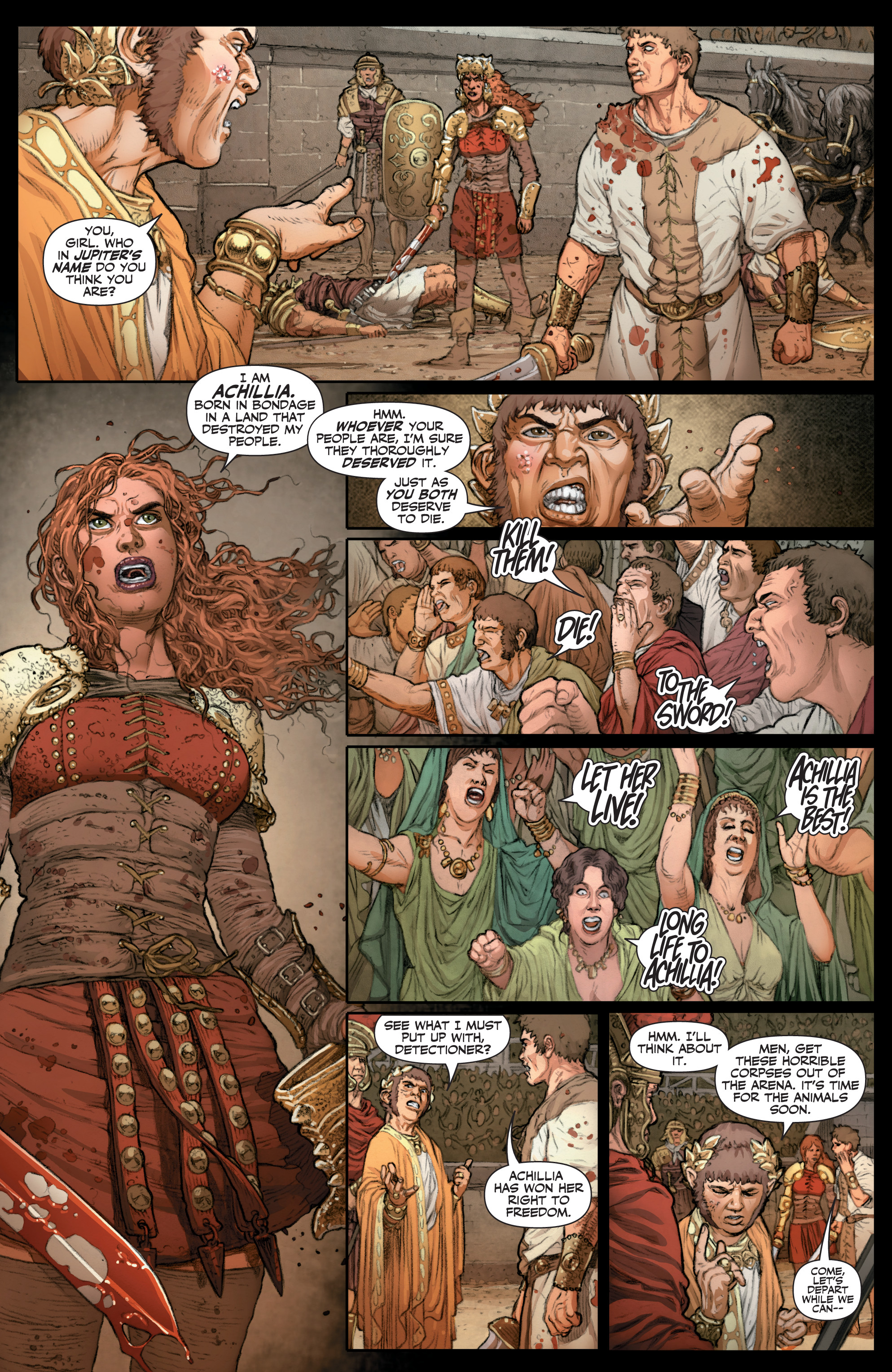 Read online Britannia: We Who Are About To Die comic -  Issue #3 - 12