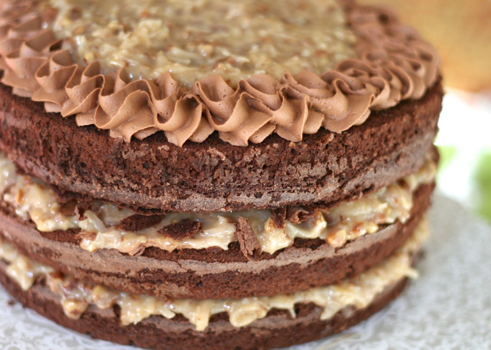 Tune N Fork German S Chocolate Cake