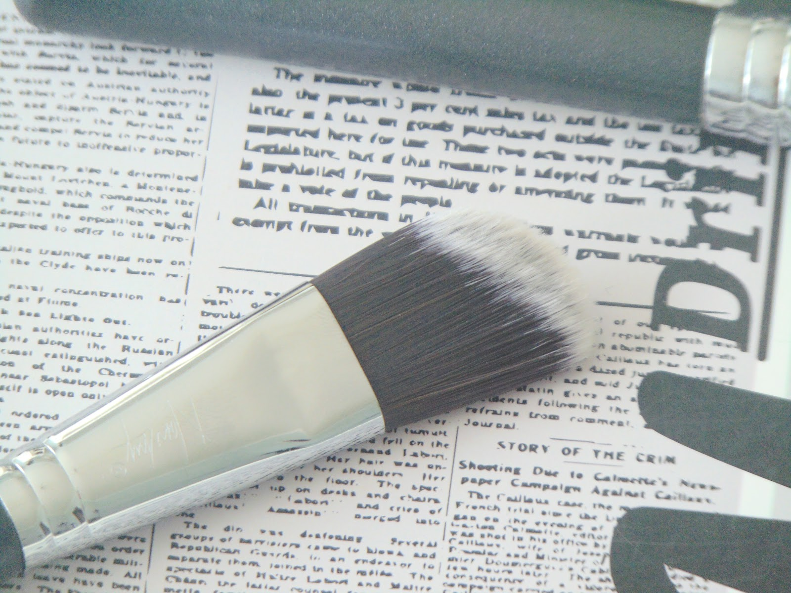 pędzle nanshy brushes onyx black foundation brush