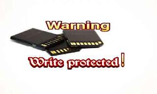 Cara Mengatasi Write Protected Pada SD Card Secara Mudah