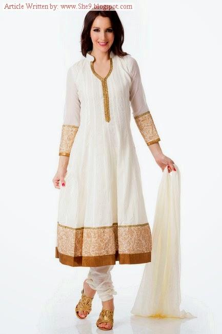 Simple and Elegant Salwar Kameez Designs 2014-2015 - She9 ...