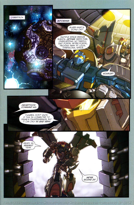 Read online Transformers Armada comic -  Issue #15 - 10