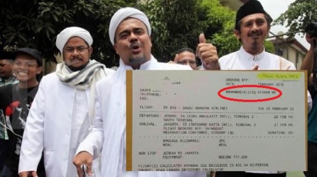 Resmi, Habib Rizieq Tidak Jadi Pulang ke Indonesia Hari Ini