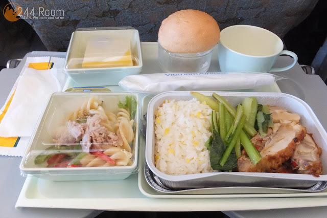 ベトナムエアライン機内食 Vietnam Airlines Flight meal2