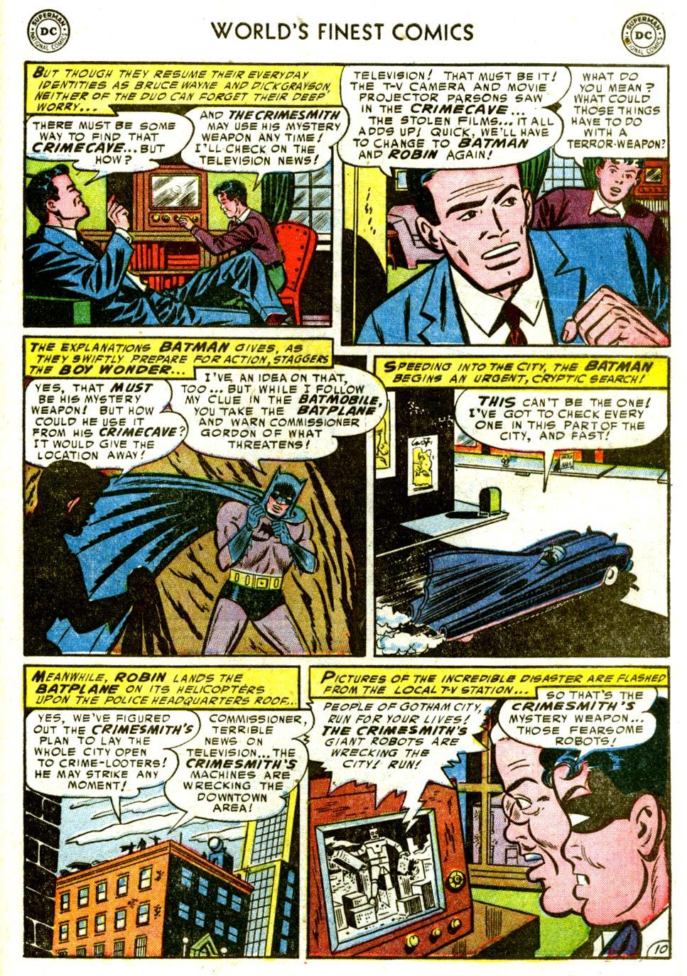 Read online World's Finest Comics comic -  Issue #68 - 63