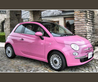 5ooblog Fiat 5oo New Fiat 500 Rosa