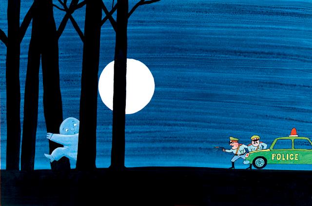 imagen del hombre luna escapando de la carcel