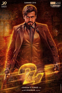 24 2016 720p Tamil HDRip Full Movie Download (Size – 1 GB)