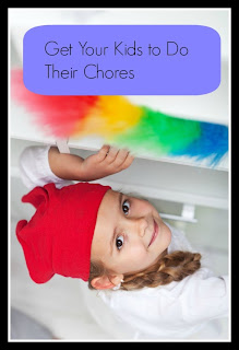 getting kids to do chores