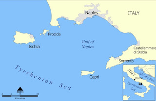 Gulf of Naples map