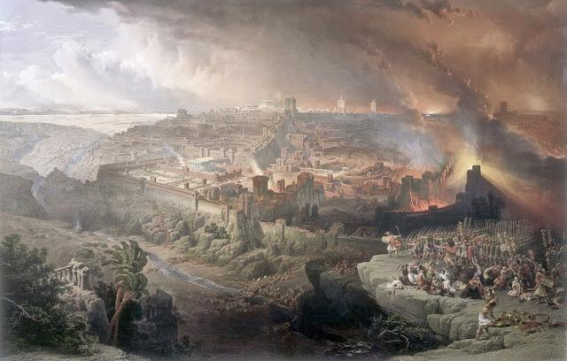 Resultado de imagem para Destroços da batalha na qual romanos tomaram Jerusalém são encontrados