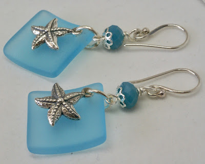 Starfish earrings by BayMoonDesign