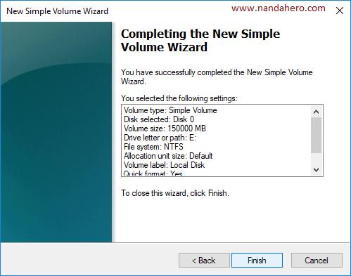 cara membagi partisi hardisk saat instal windows 7