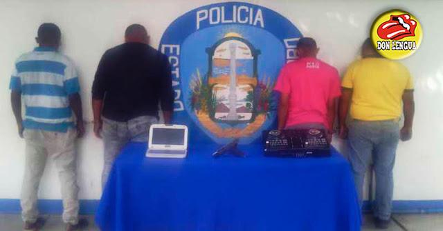 """4 individuos capturados por PoliCarabobo por el delito de """"Contaminación Sónica"""""""