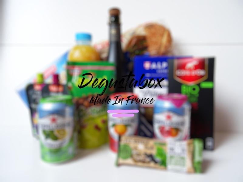 unboxing degustabox alimentaire produit en france