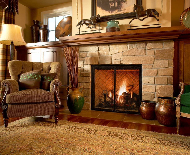 mendota fireplace look book