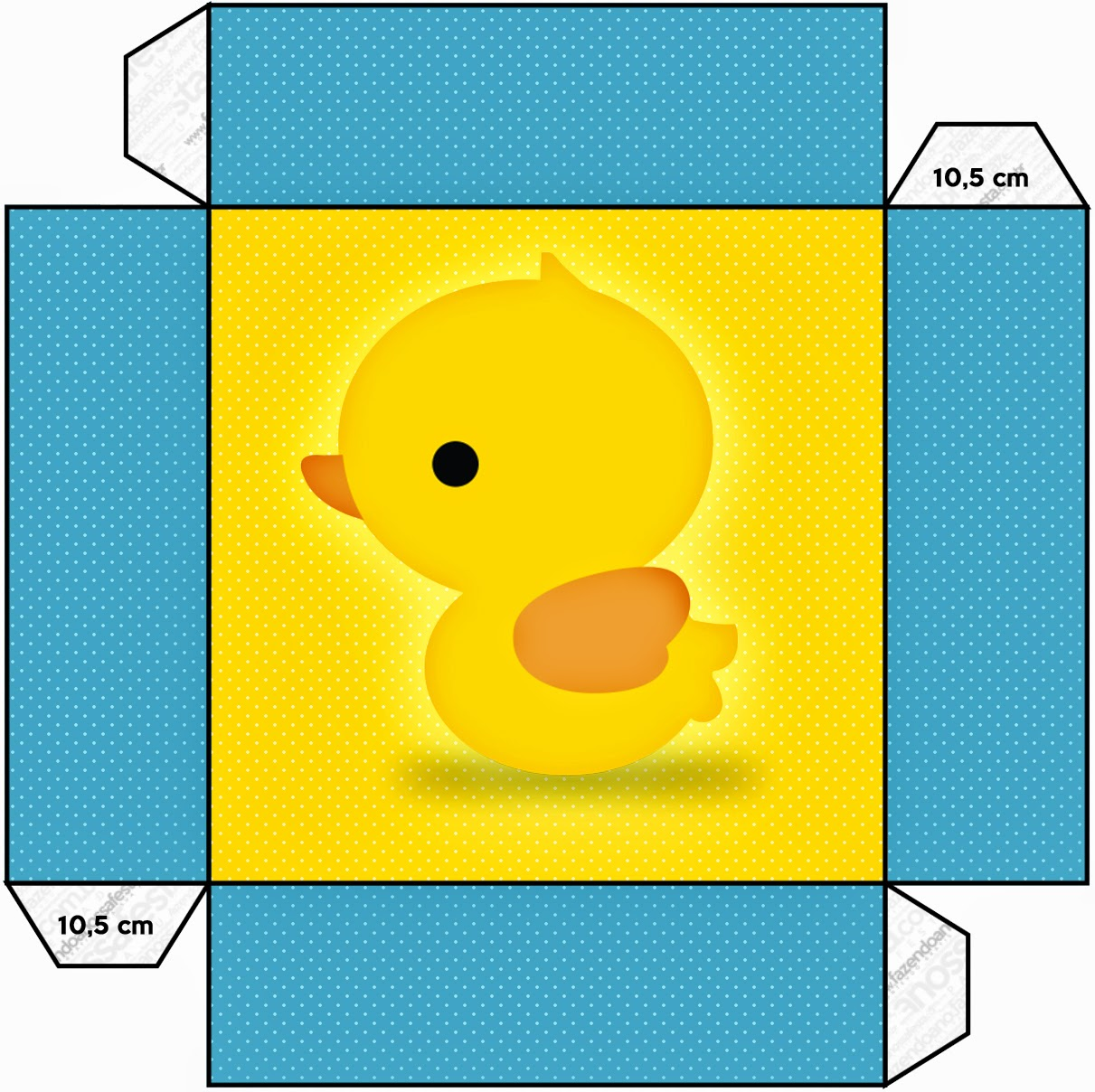 Rubber Ducky Free Printable Boxes