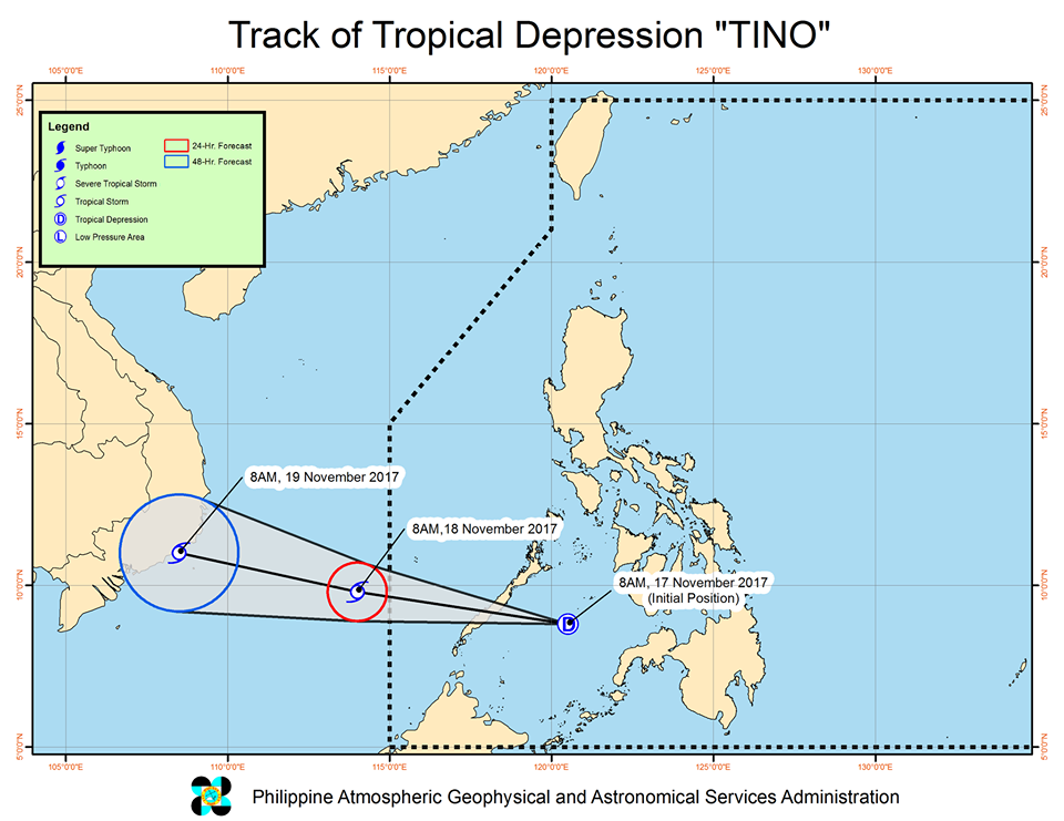 Bagyong TINO Update, Forecast, Storm Signals and Track | #TinoPH