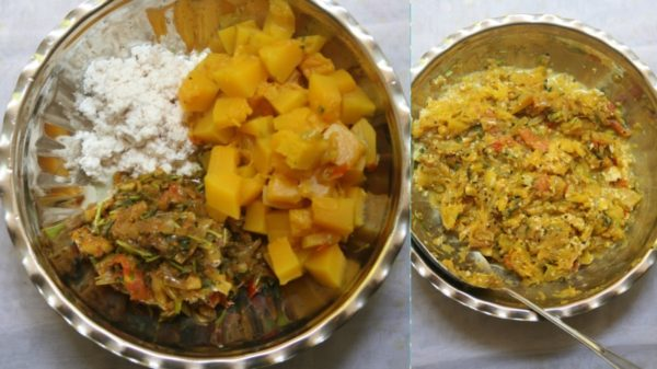 how to make Pumpkin Thalipeeth