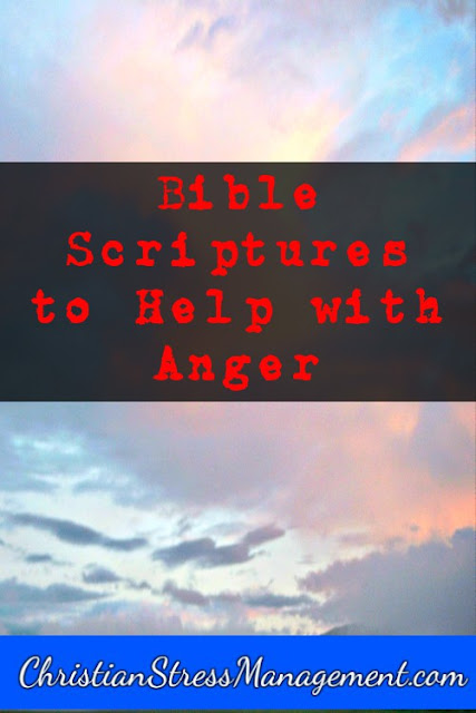 Bible scriptures to help with anger