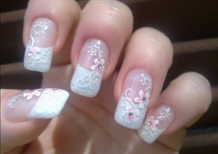 Nail Designs for Brides